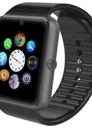 Умные смарт часы Smart Watch GT08 (ЧЕРНЫЕ)