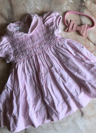 🌿 вельветовое платье на малышку