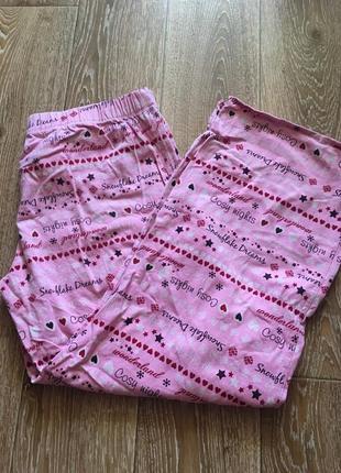 Натуральные пижамные штанишки