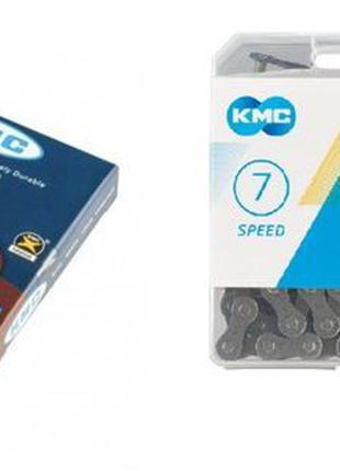 Цепь Z7,КМС,х8.99,х7,для велосипедов,6.7.8 скоростей,вело,ланц...