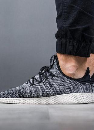 "Adidas originals pharrell williams tennis hu primeknit ""oreo"" ..."