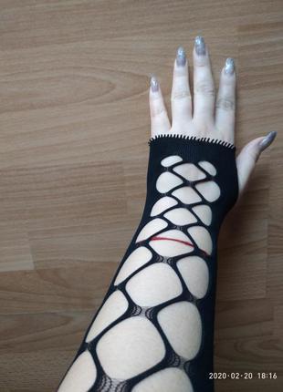 Перчатки сеточка