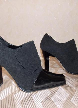Новые красивые туфли  (ботильоны )