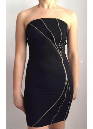 Черное платье, чорне плаття, сукня, летнее, клубное.
