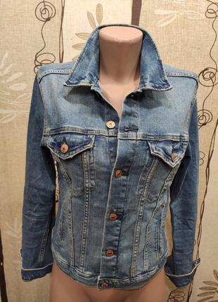 H&m джинсовая куртка, пиджак