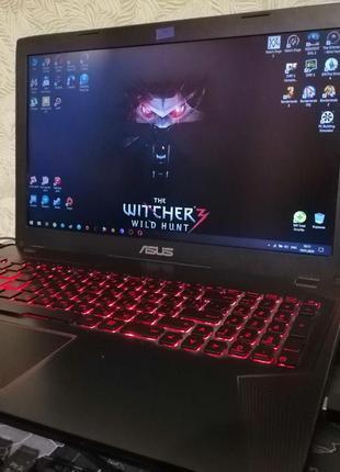 ASUS FX553VE-DM406 Black Red (Ігровий ноутбук)