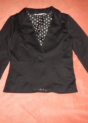 Пиджак жакет h&m р.152см(11-12лет)