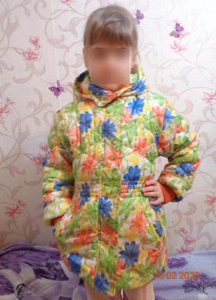Курточки для девочек  на 3-5 года. последние. скидка