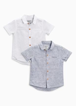Льняная рубашка next
