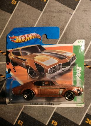 68 Oldsmobile 442 treasure hunt