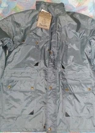Куртка мужская демисезонная с капюшоном новая