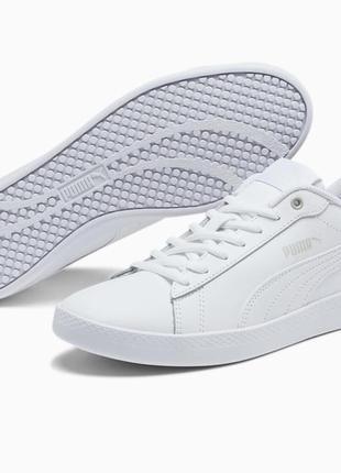 Белые кроссовки сникерсы оригинал из сша натуральная кожа