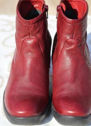Ботильоны, ботинки think натуральная кожа
