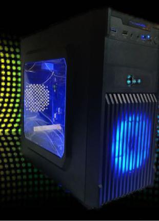 ИГРОВОЙ ПК Intel Core I3 9100F/DDR4/Radeon RX 570 Sapphire 4GB