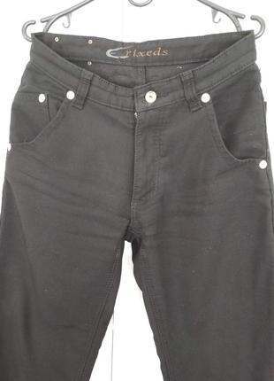 Мужские джинсы на флисе crixeds