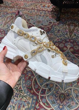 Шикарные кроссовки gucci 🔥 тренд