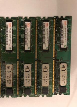 ОЗУ Hynix DDR2 1 gb PC-667 (3шт)