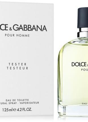 Dolce&Gabbana Pour Homme 125 мл TESTER мужской
