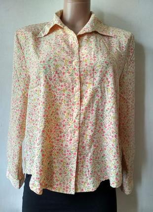 Рубашка в цветочный принт vifs