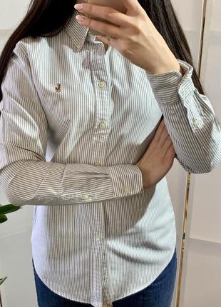 Рубашка хлопковая ralph lauren оригинал