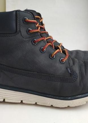 Кожаные ботинки timberland р.35