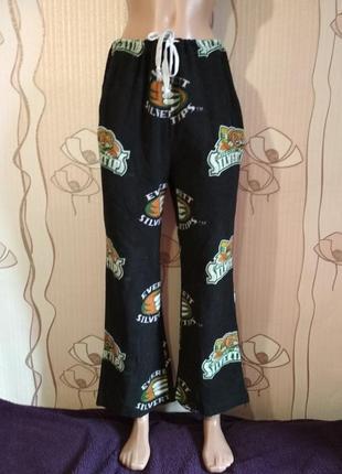 Пижамные штаны для дома для сна grandma pants