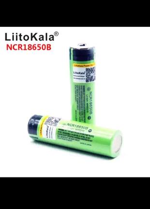 Liitokala 100%оригинал 3,7 в 3400 мА 18650