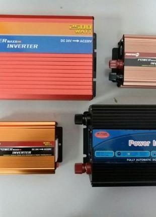 Преобразователь напряжения инвертор 24-220V мощность от 300W д...