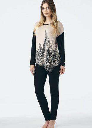 Распродажа!!!женская пижама домашняя одежда key lhs-857