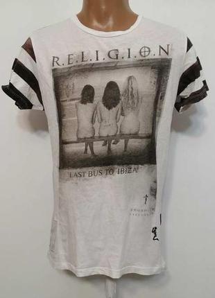 Футболка religion we live in black,сост. отличное!