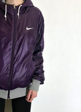 Женская двусторонняя куртка nike the athletic dept
