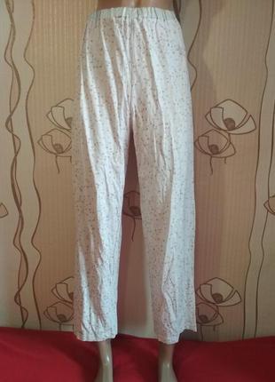 Пижамные штаны для дома для сна в сердечко