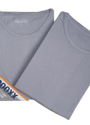 Комплект 2 шт. футболки мужские хлопковые бренд  trooxx, р.m