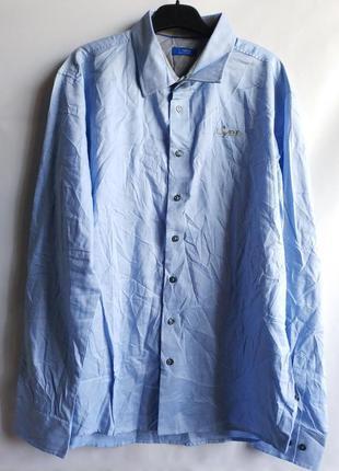 Фирменная мужская рубашка lidl l-xl, германия оригинал сток