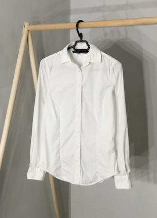 Базовая белая рубашка от zara