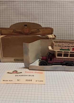 Oxford Die-Cast – модель автобус двухэтажный – шоколад - Beamish