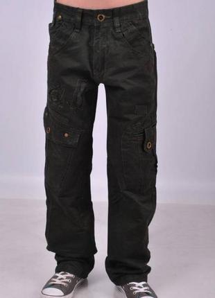 Детские джинсы, брюки, штаны для мальчиков 11,12,13,14 лет