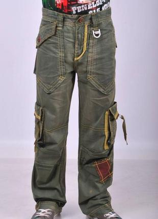 Детские джинсы, брюки, штаны для мальчиков.12,13,14 лет 152-16...