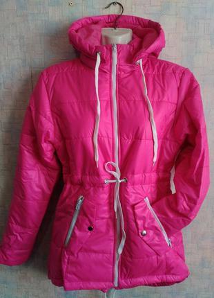 Стильная женская демисезонная куртка размер 40,42,44,46