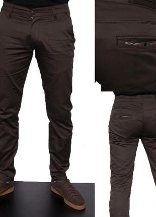Модные мужские котоновые брюки 30,31,33,34 размер турция