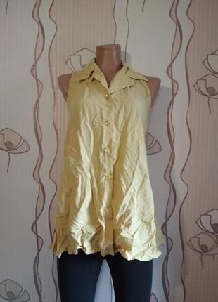 Рубашка - безрукавка kumikyoku