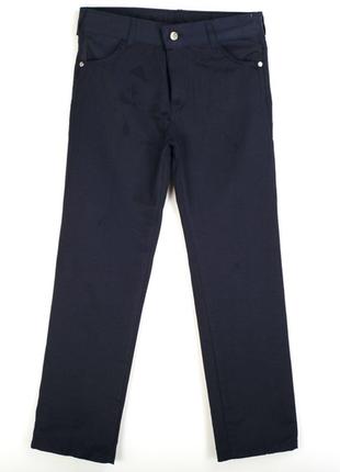Школьные брюки на мальчика 6,7,8,9,10,11,12 лет черные синие т...