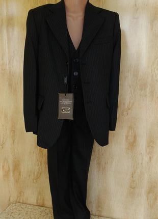 Школьный качественный костюм форма на мальчика 6,7,8,9,10 л