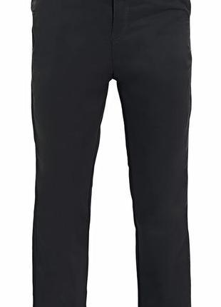 Черные котоновые брюки на мальчика 11,12,13,14 лет
