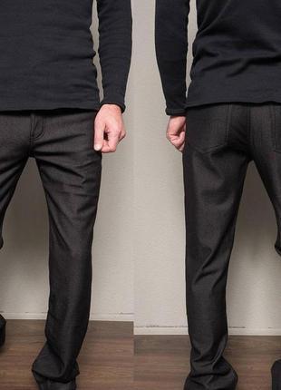 Мужские утепленные джинсы на флисе 30,31,38 р