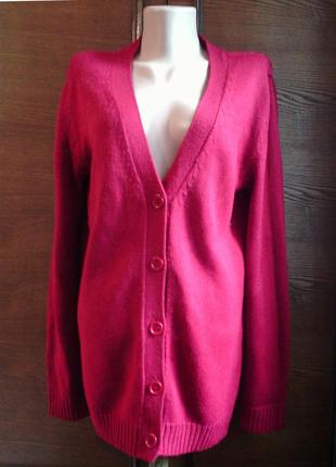 Тёмно-красный кардиган / свитер