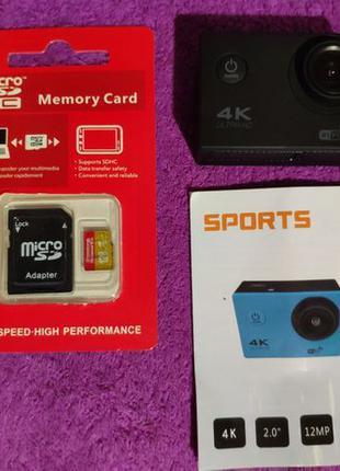 Экшн камера карта памяти sd 128gb