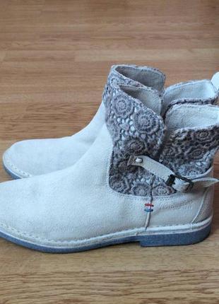 Замшевые ботинки wrangler 37 размера в состоянии новых