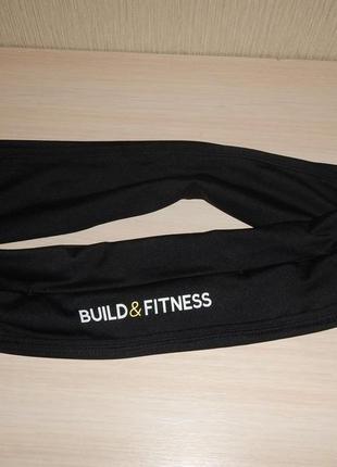Спортивный пояс органайзер для бега build&fitness p.l