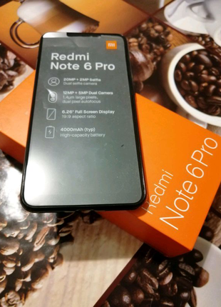 Xiaomi redmi note 6 pro 3/32 Global Version